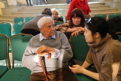Юрий Любимов в Новой Опере Школа жен