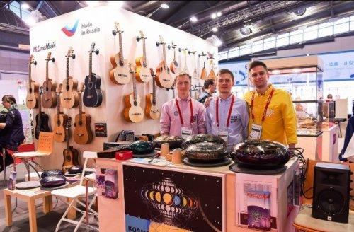 Российской экспозиции на Musikmesse было чем удивить публику