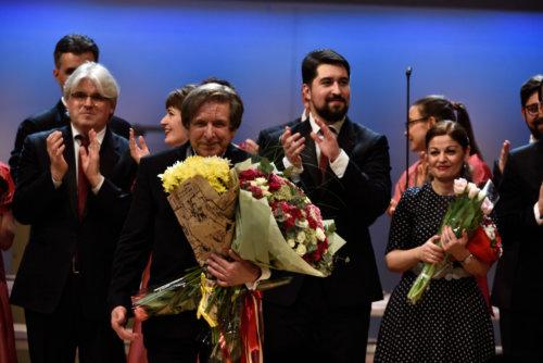 Гала-концерт «Музыка столетия».Геннадий Дмитряк. Фото Юрия Покровского.