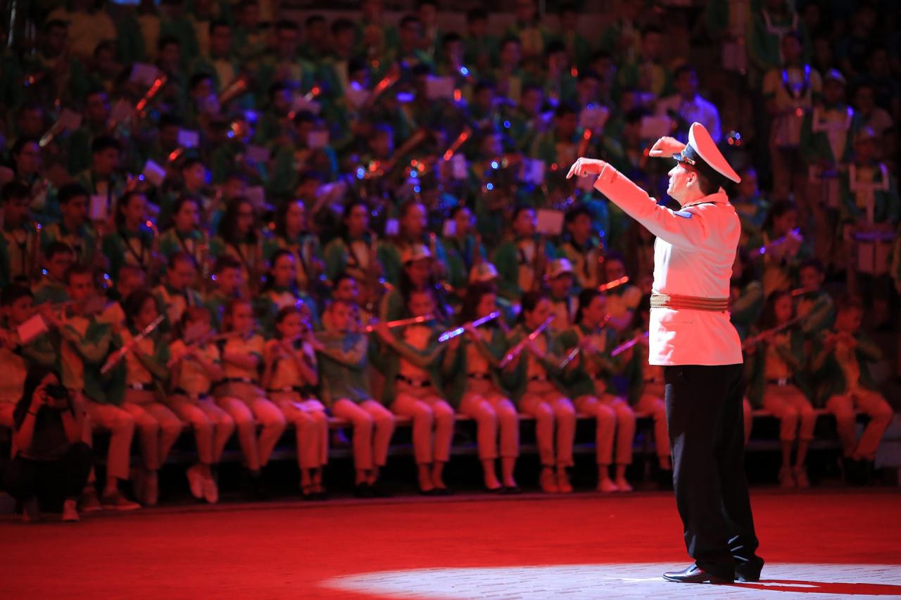 В легендарном МДЦ «Артек»  состоится гала-концерт 375 юных духовиков