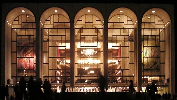 © Фото : Paul Masck Метрополитен-опера. Архивное фото